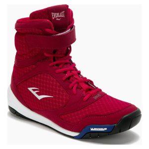 Zapatilla de Boxeo Unisex Elite Rojo 9283592578