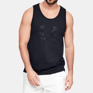 Camiseta sin mangas UA Sportstyle Logo para hombre 1329589-001
